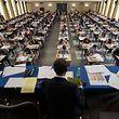 Examen  de fin d'étutes Lycée de Garcons Esch Alzette 2018. Erster Tag der Schlussexamen. Photo: Guy Wolff
