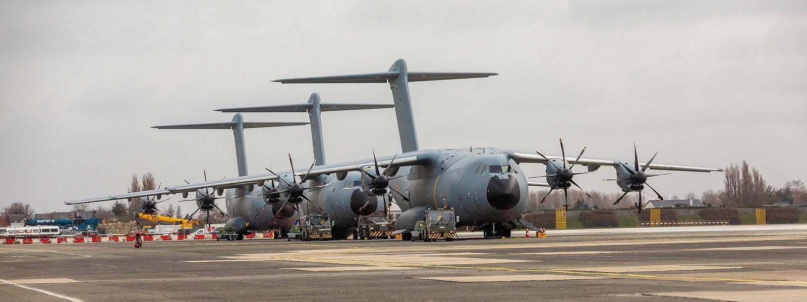 Trois autres avions devraient rejoindre la base de Melsbroek dans les mois à venir.