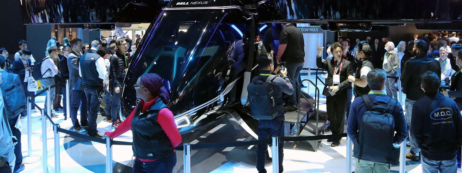 Autopiloten, Robo-Busse und Flugdrohnen – auf der diesjährigen CES in Las Vegas ziehen die Autohersteller und Zulieferer alle Register.