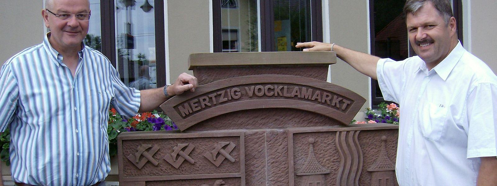 Die Gemeinden Mertzig und Vöcklamarkt sind seit 1998 offiziell Partner.