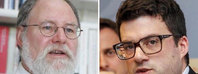 Charles Barthel (links) und Vincent Artuso (rechts) stehen im Zentrum der aktuellen Historiker-Kontroverse.