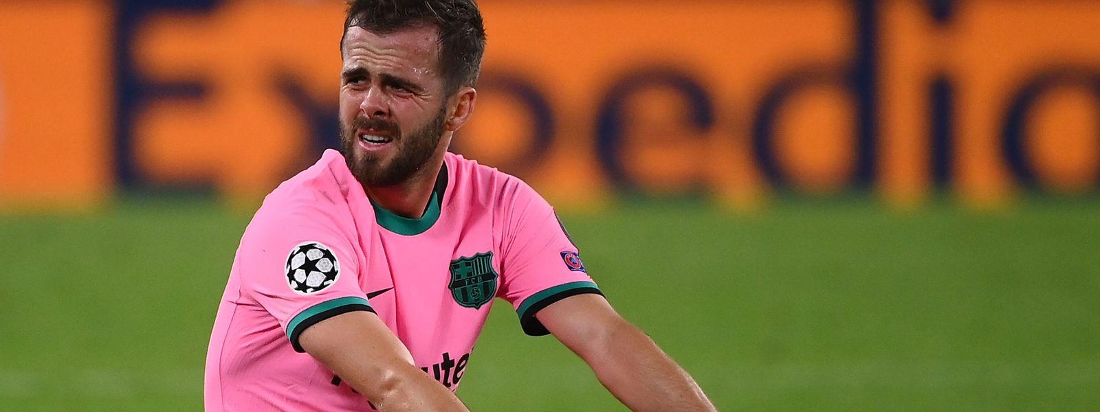 Neuzugang Miralem Pjanic und der FC Barcelona suchen noch nach der Topform.