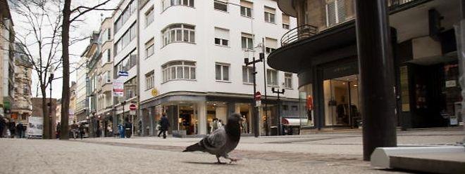 In der Rue de la Poste, der Rue Beck und der Rue Aldringen sollen Einzelhändler laut eigenen Angaben bis zu 40 Prozent weniger Kunden verbuchen.