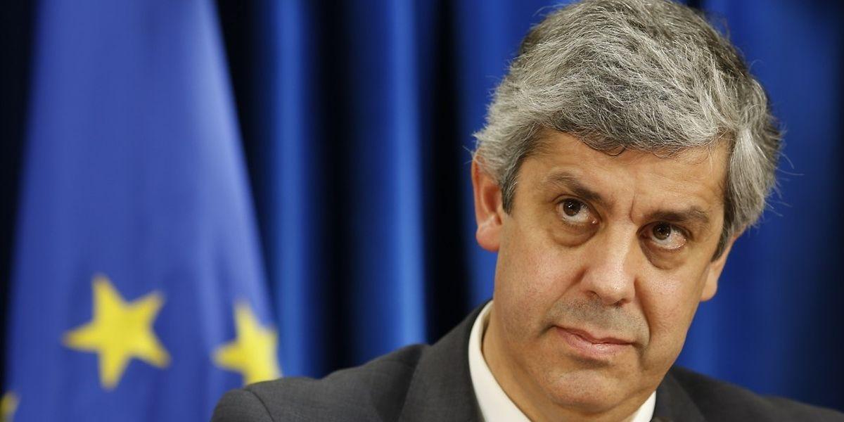 Mário Centeno, ministro português das Finanças