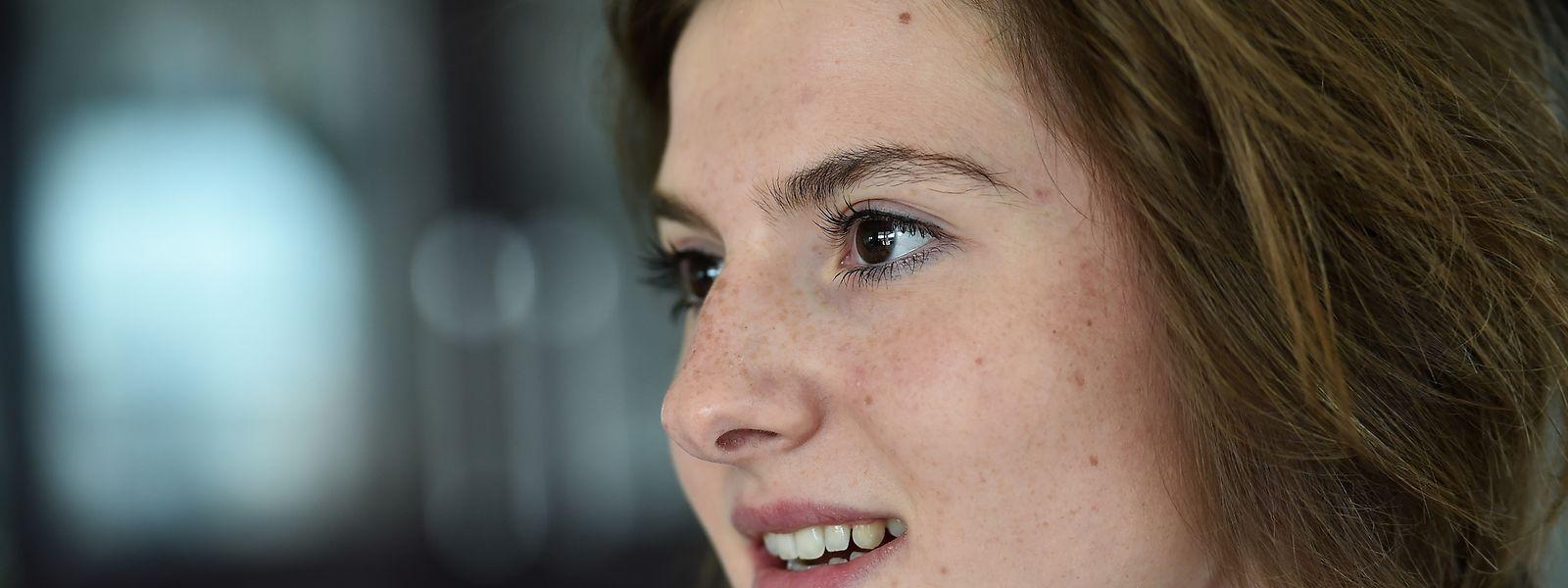 Anne-Sophie Harsch gehört die Zukunft.