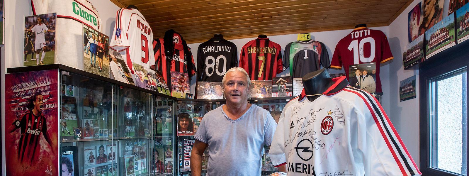 """Gianni Righetto: """"Zurzeit liegt mein klarer Fokus darauf, Fotos mit aktuellen und ehemaligen Starspielern zu machen."""""""