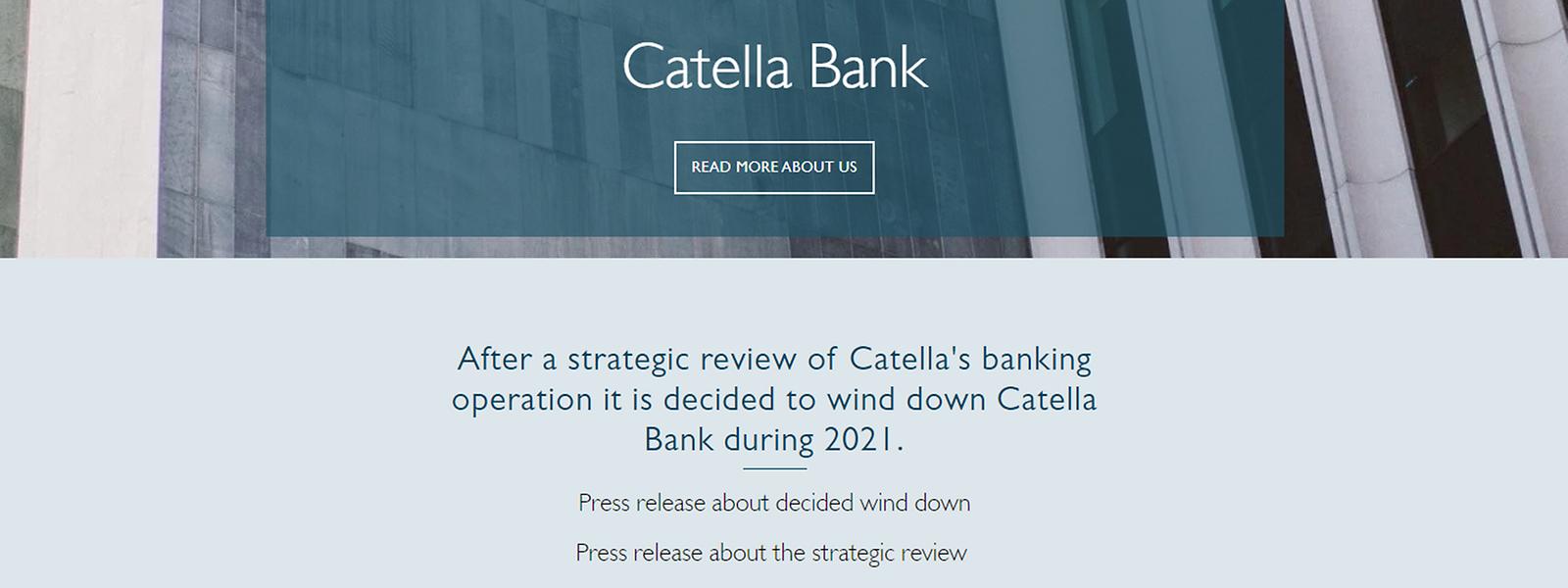 Noch sind bei der Catella Bank in Luxemburg 13 Mitarbeiter beschäftigt.