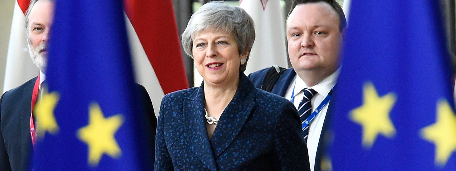 Theresa May hofft beim EU-Gipfel noch auf einen Kompromiss.