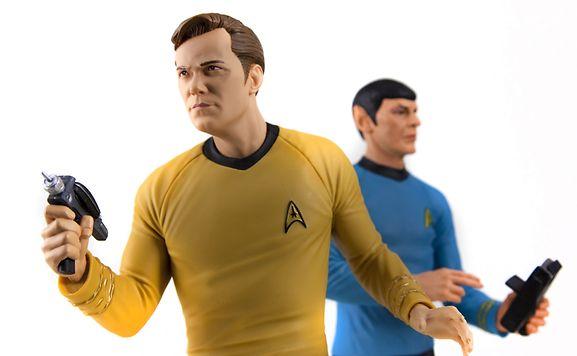 Teleporter, Super-Antrieb, Phaser, 3-D-Hologramm oder Sprachübersetzer: Captain Kirk und Mr. Spock besaßen gar wunderbare Erfindungen.