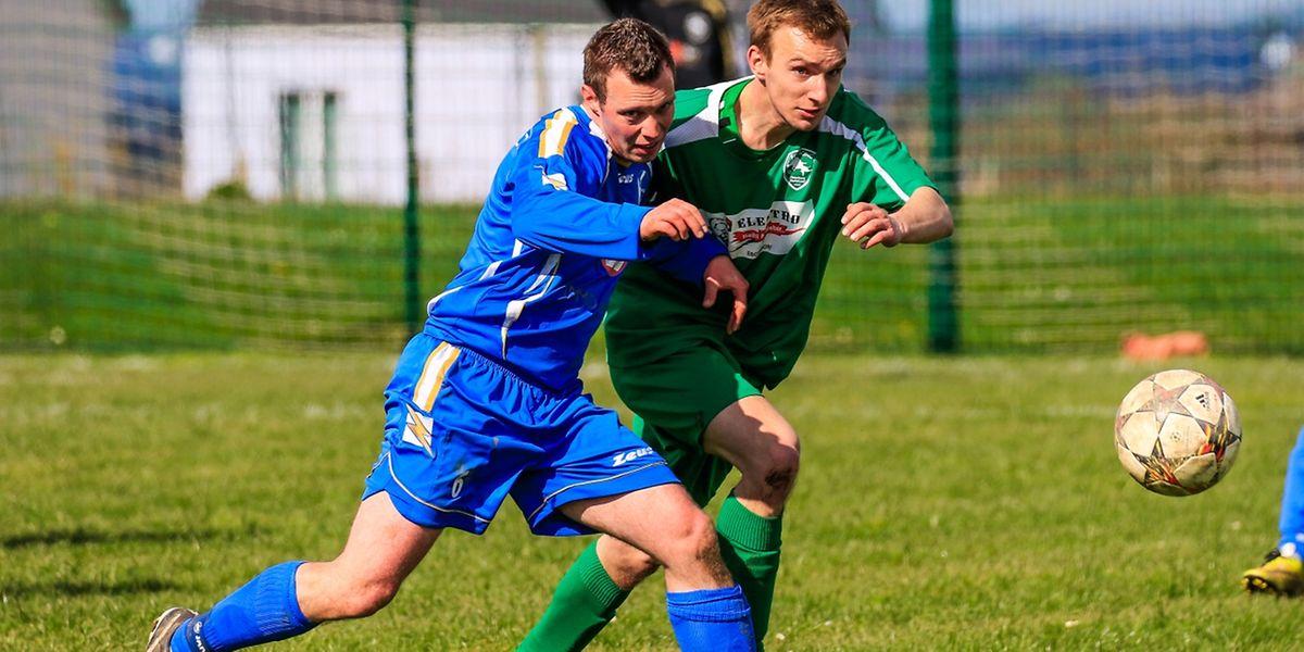 Duel entre Christian Schmit et Andre Ferenc. Wilwerwiltz a facilment disposé de Hederscheid 8-1.