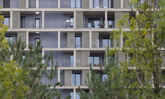 Apartments in the Cloche d'Or area of Luxembourg City