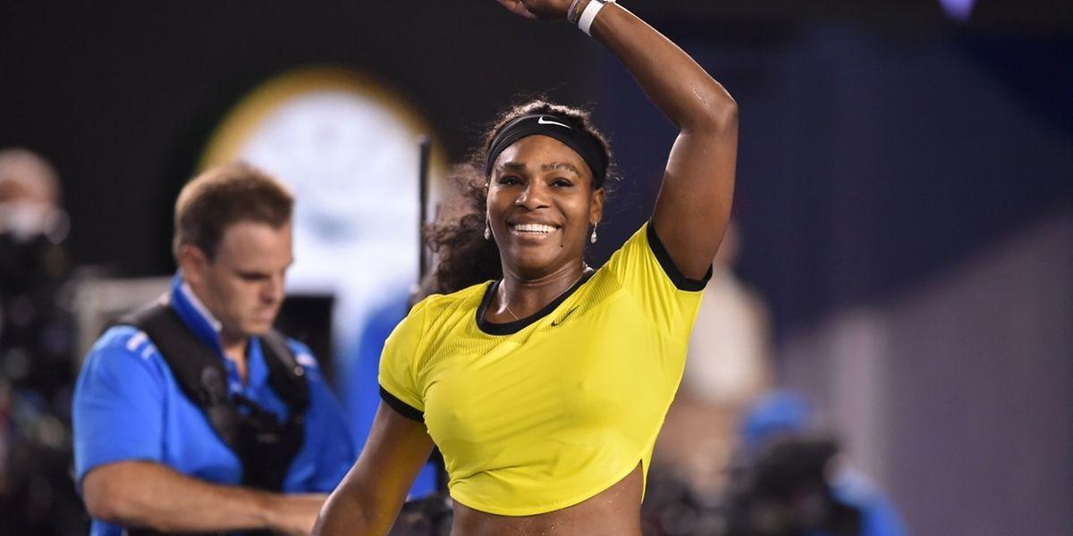 Serena Williams savoure sa victoire nette face à Agnieszka Radwanska en demi-finale