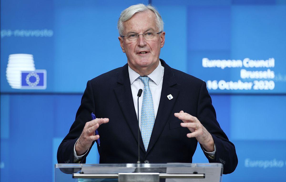 Michel Barnier se dit «absolument déterminé à trouver un accord juste».