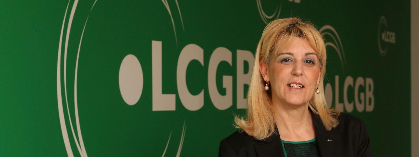 Liliana Bento, secretária sindical da LCGB
