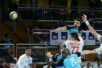 FLH Handball WM Qualifikation der FLH Maenner gegen Slowakei in der Coque am 10.01.2020 Max KOHL (7 FLH)