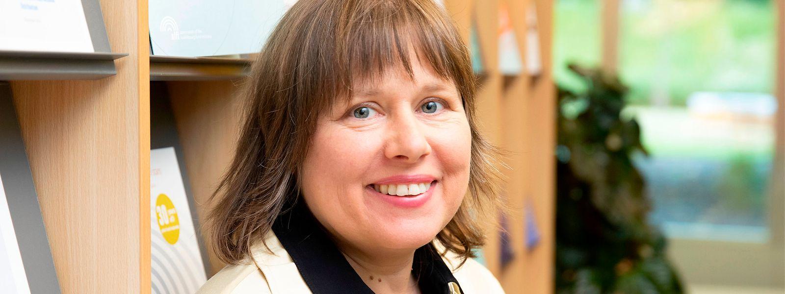 Finance durable: Corinne Lamesch ne veut pas de réglementation trop rigide.