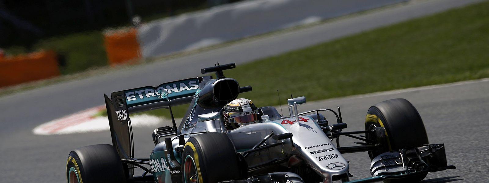 Weltmeister Lewis Hamilton war am Samstag einmal mehr das Maß aller Dinge.