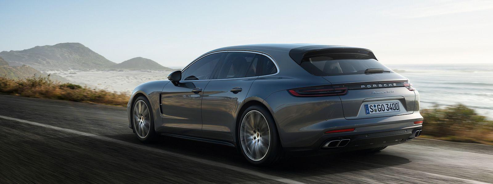 """Der Panamera Sport Turismo ist laut Porsche ein """"avantgardistisches Design- und Karosseriekonzept mit sehr dynamischen Proportionen""""."""