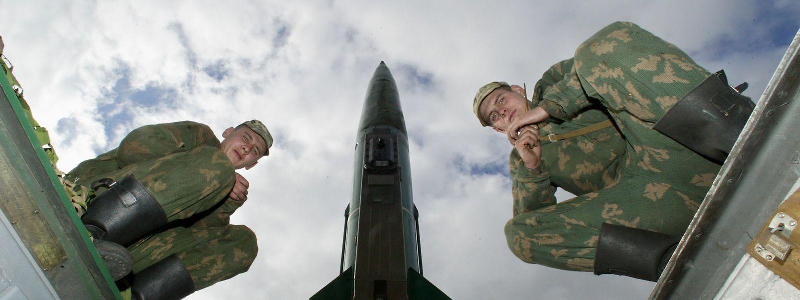 Mit der Aufkündigung des INF-Vertrags könnte wieder ein Wettrüsten beginnen.