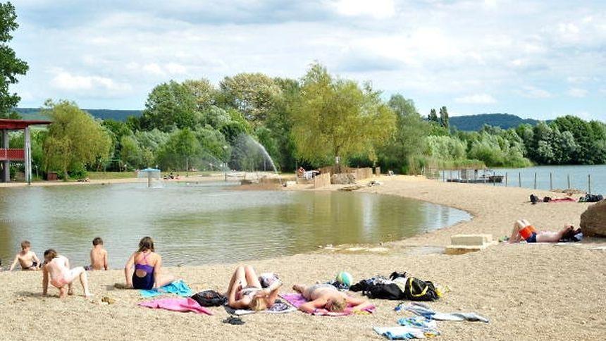 Erstmals darf auch noch im September in Luxemburger Seen gebadet werden.