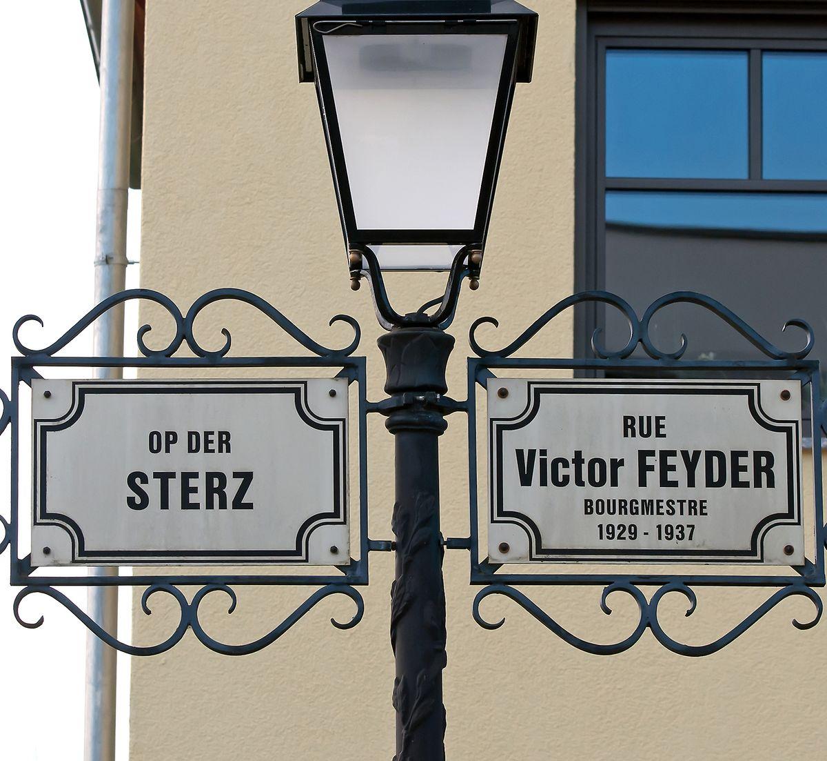 In der Rue Victor Feyder soll demnächst ein bauliches Hindernis das Abkürzen verhindern.