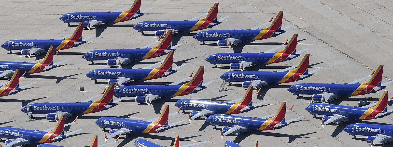 Weltweit stehen die 737 Max am Boden.