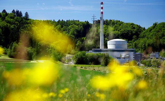 Einer der schweizer Reaktoren liegt in Mühleberg bei Bern.