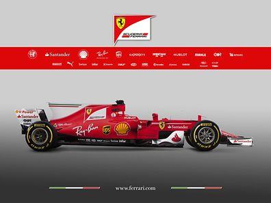 Le nom «SF70» fait référence aux 70 ans de la «scuderia Ferrari»