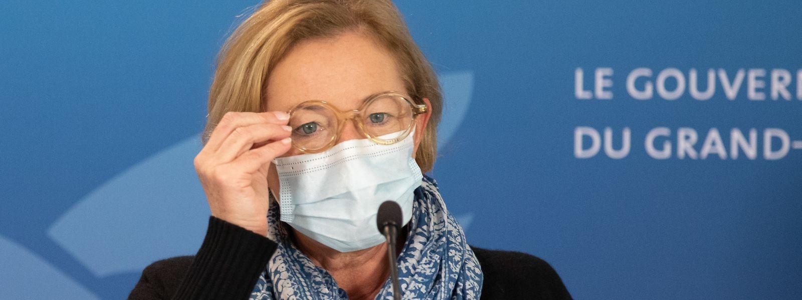 Gesundheitsministerin Paulette Lenert (LSAP) hat sich mit ihrer besonnenen Art etabliert.