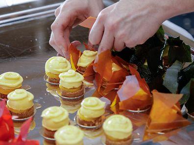 28.11.WO fr. / Hotel Le Place d`Armes / Pres Assoc. Les Sucrés de Lux , Chef Patissiers / Yves Jehanne Foto:Guy Jallay