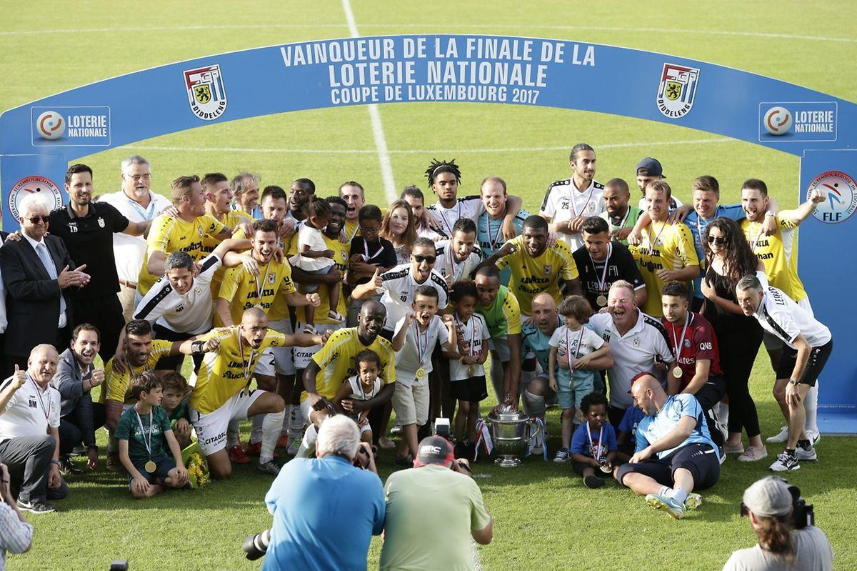 Septième Coupe de Luxembourg pour le F91 Dudelange.