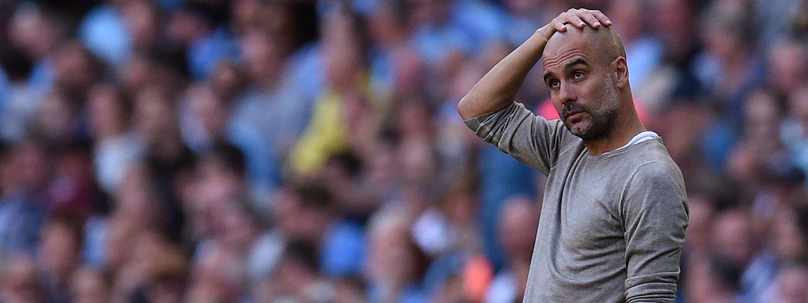 Selbst Perfektionist Pep Guardiola dürfte an der Leistung seiner Mannschaft eher wenig auszusetzen haben.