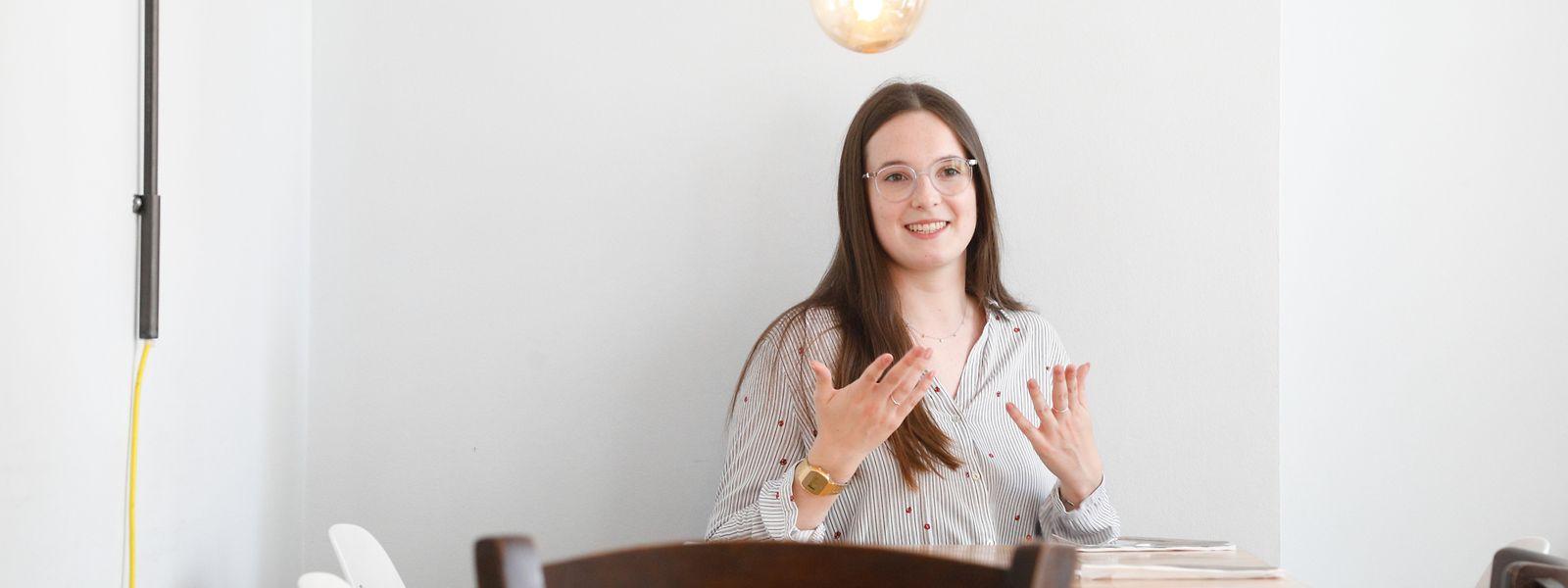 """Als Claire Bergem im """"Luxemburger Wort"""" über die Situation der Gehörlosen-Gemeinschaft in Luxemburg las, war sie erstaunt, dass es nur zwei Gebärdensprach-Dolmetscher in Luxemburg gibt."""