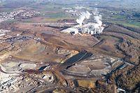 Insgesamt sechs Deponien unterschiedlicher Art befinden sich auf dem 150 Hektar großen Gelände zwischen Differdingen und Sassenheim.