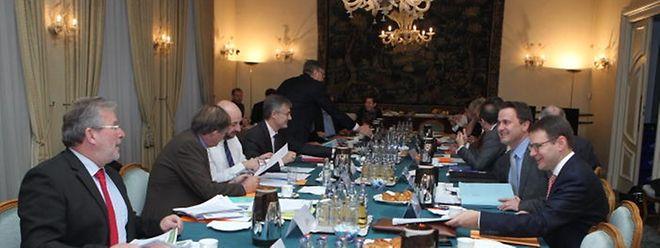 Das Wasser, die Umwelt und die Beschäftigung waren die Haupthemen auf der der Agenda der Delegationen von DP, LSAP und Déi Gréng.