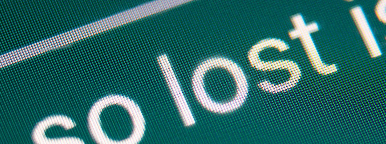 """Das deutsche Jugendwort des Jahres """"lost"""" wird hier in dem Satz """"Also ganz so lost is man nicht"""" in einer Smartphone-Unterhaltung über eine Matheprüfung verwendet."""