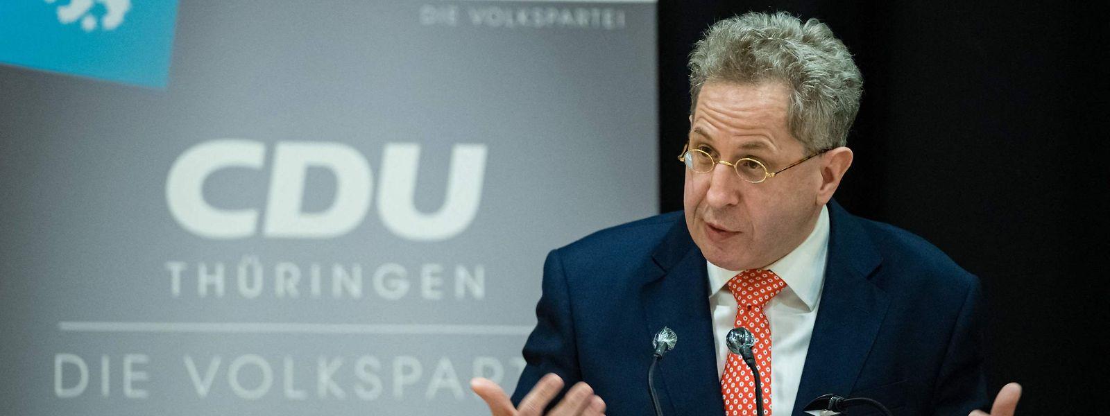 Hans-Georg Maaßen soll für die CDU Südthüringen bei der Bundestagswahl antreten.