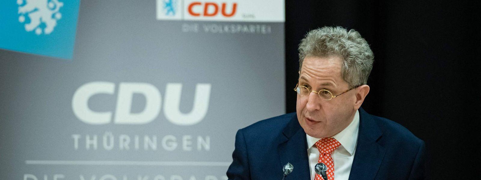 Umstrittene Kandidatur: Hans-Georg Maaßen tritt für die CDU Südthüringen bei der Bundestagswahl an.