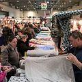Samedi, 45 exposants de tissus et d'accessoires de couture ont présenté leurs nouveautés