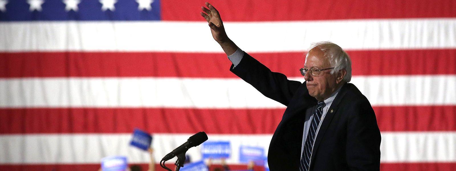 Von all den Kandidaten, die bisher ihre Kandidatur bei den Demokraten erklärt haben, hat Bernie Sanders die besten Aussichten.