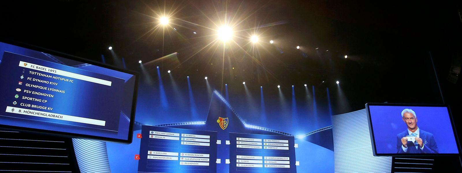 Die Auslosung fand am Donnerstag in Monaco statt.