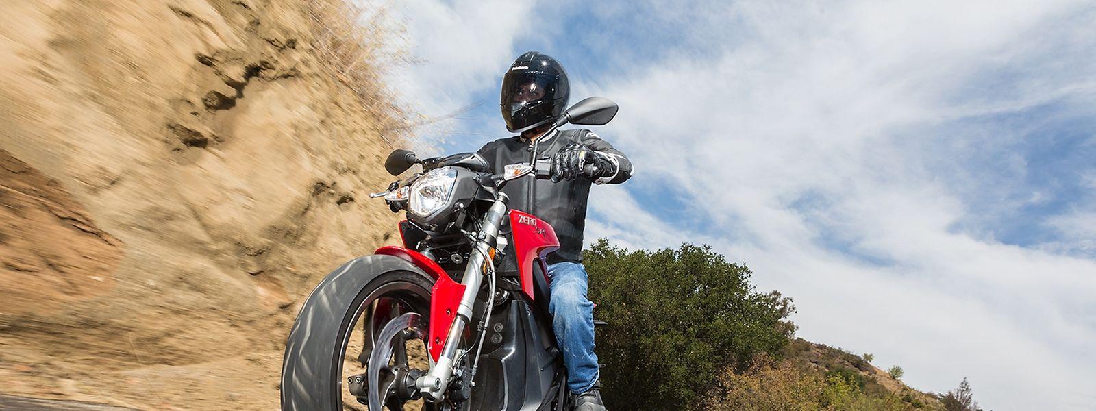 Bei schönem Wetter sind am Wochenende viele Motorradfahrer unterwegs gewesen.