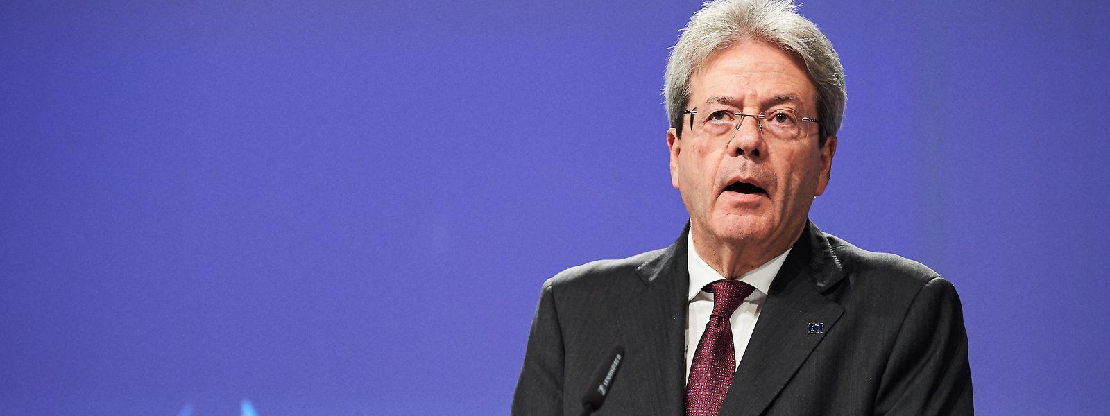EU-Steuerkommissar Paolo Gentiloni sieht die Zeit gekommen für eine EU-weite Harmonisierung der Unternehmensbesteuerung.