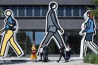 Finanzplatz Luxemburg. Arend & Medernach. Kirchberg. Photo: Guy Wolff