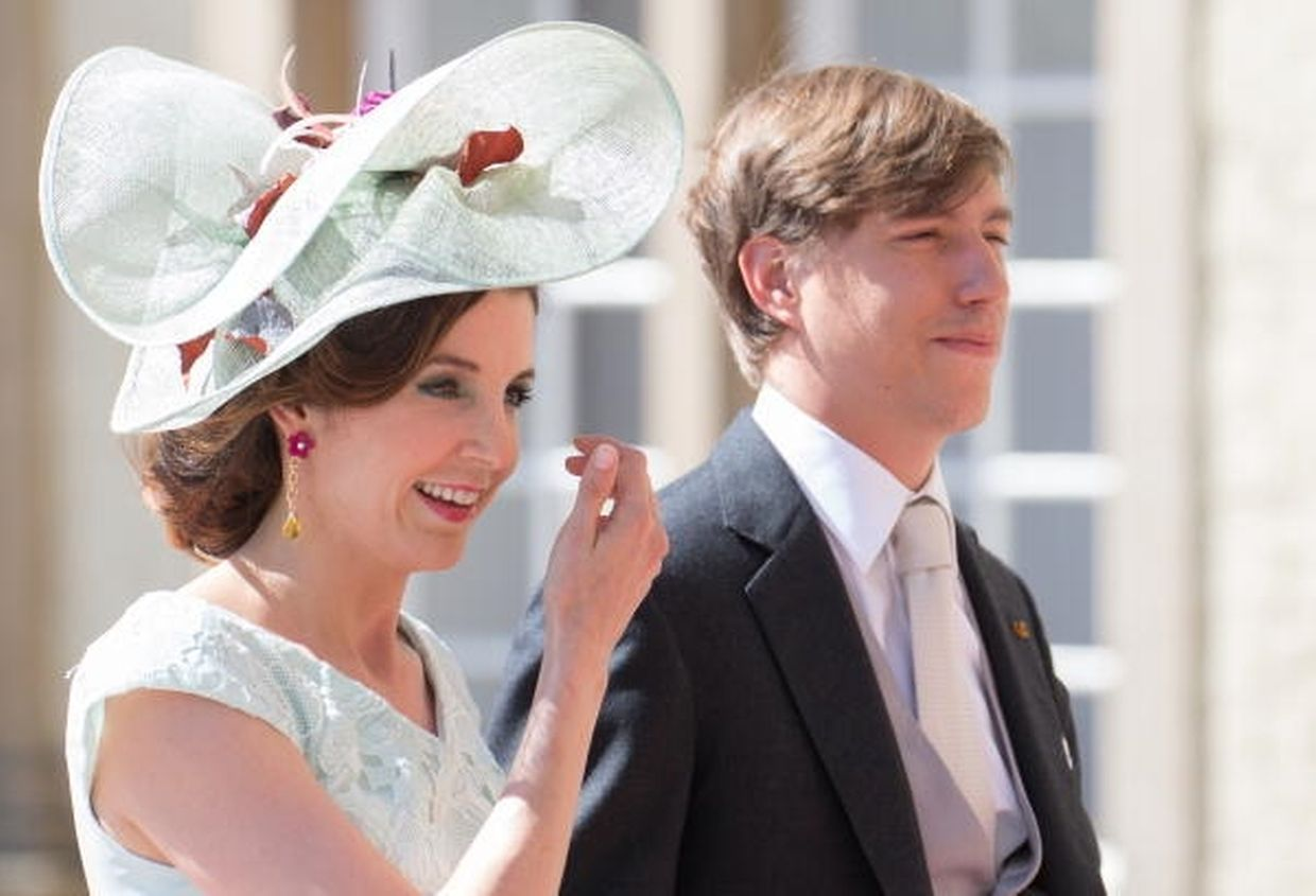 Le prince Louis et la princesse Tessy lors de la Fête Nationale,Te Deum, le 23 Juin 2016. Photo: Chris Karaba