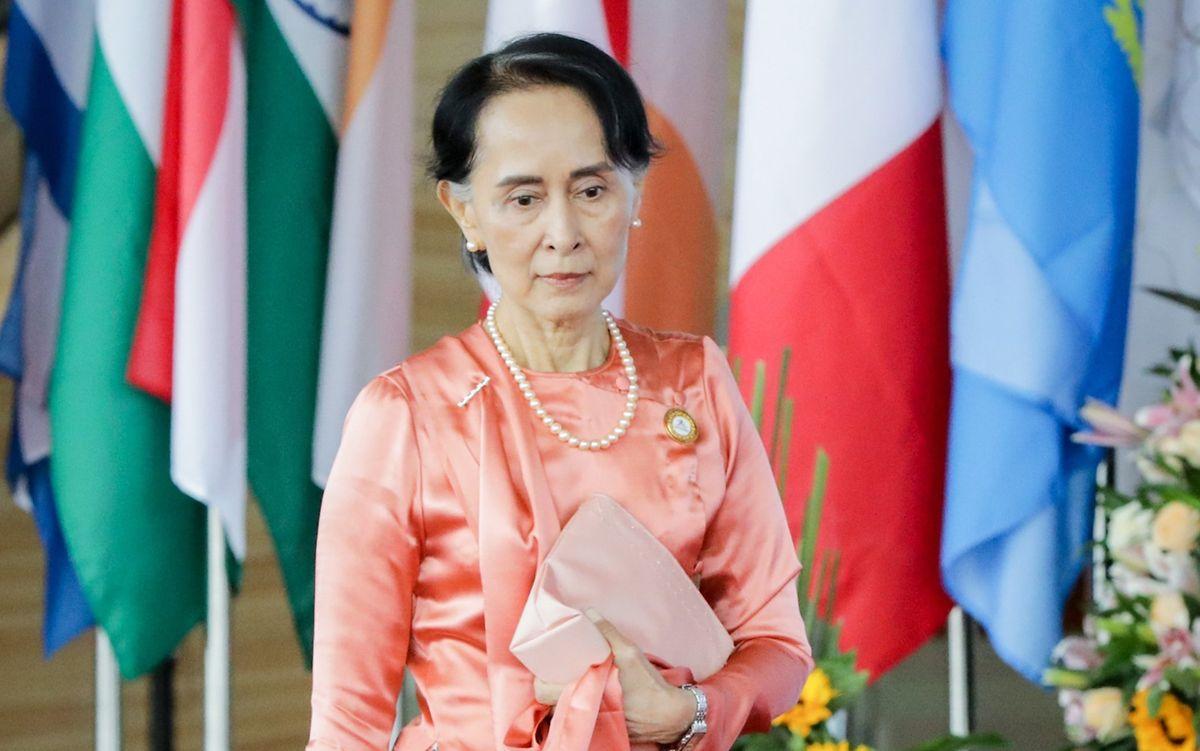 Myanmars De-Facto-Regierungschefin Aung San Suu Kyi und weitere ranghohe Politiker des Landes sind nach Angaben ihrer Partei vom Militär festgesetzt worden.