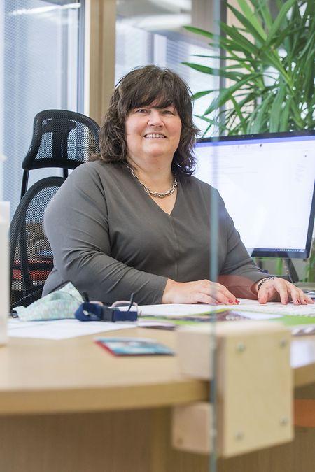 Die Schule umzurüsten war kein leichtes Unterfangen, sagt die beigeordnete Direktorin des Fieldgen Sylvie Wagner.