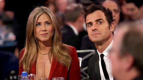 """Aniston und Theroux wollen """"beste Freunde"""" bleiben."""