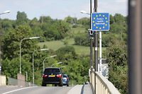 Lokales, Grenze bei Schengen, Coronavirus, Covid-19, Foto: Chris Karaba/Luxemburger Wort
