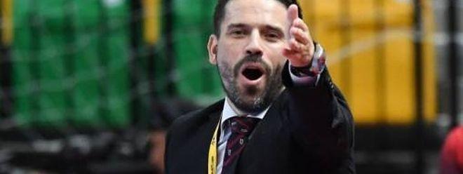 Pedro Costa quer ser uma mais-valia para o futsal do CS Sanem no Luxemburgo.
